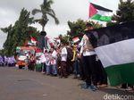 Aksi Protes Klaim Yerusalem oleh Donald Trump di Jepara