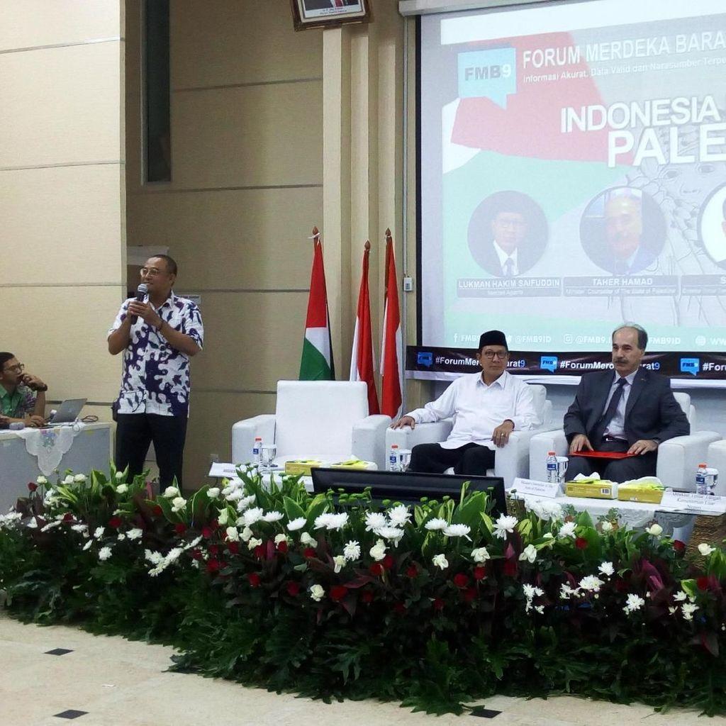 Menag Lukman Sebut Aksi Bela Palestina Perjuangan Kemanusiaan