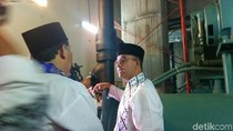 Momen Anies Baswedan Cek Tembok DPRD DKI yang Miring dan Retak