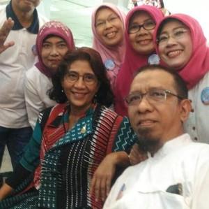 Cerita Susi yang Masih Penasaran Kenapa Diangkat Jadi Menteri