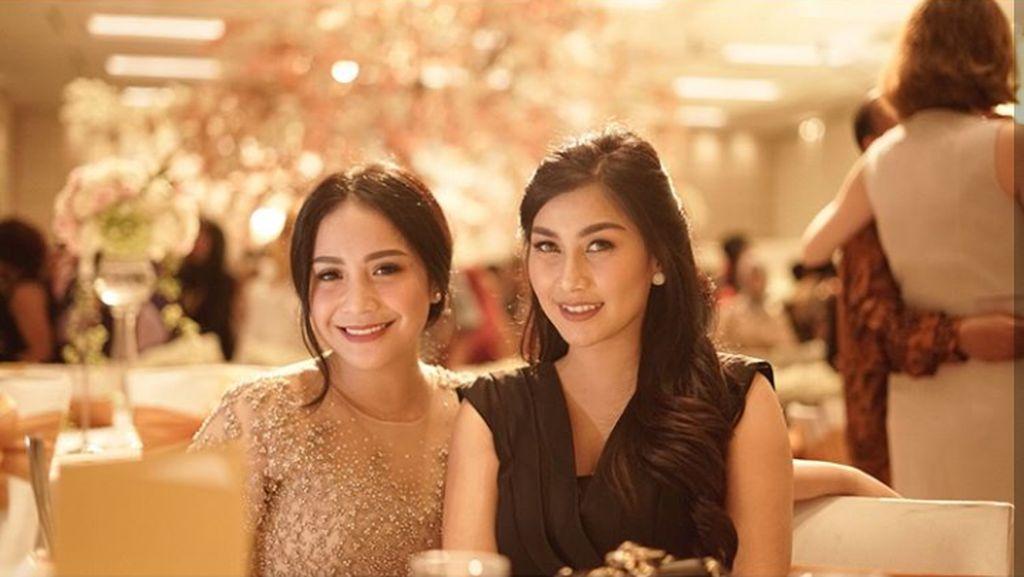 Potret Nisya dan Nagita Slavina, Sister in Law Goals Banget