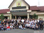 Brigez-XTC Bersatu Amankan Tahun Baru di Kabupaten Bandung