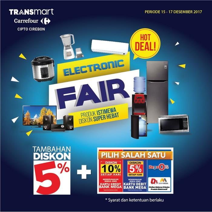 Foto: Promo Elektronik Seru di Transmart Carrefour Cipto Cirebon