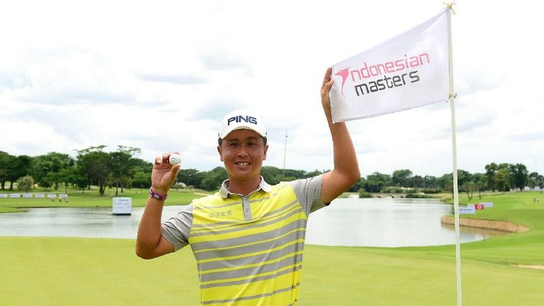 Hari Kedua Indonesian Masters Diwarnai Hole in One Pegolf Taiwan