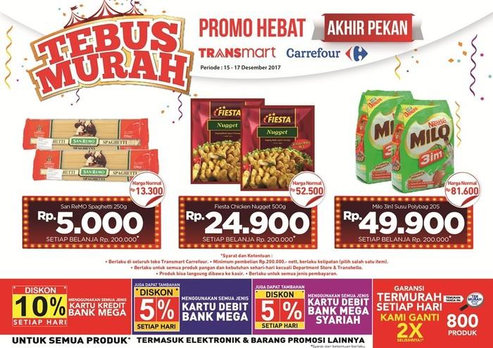 Foto: Tebus Murah 3 Produk (Dok. Transmart Carrefour)