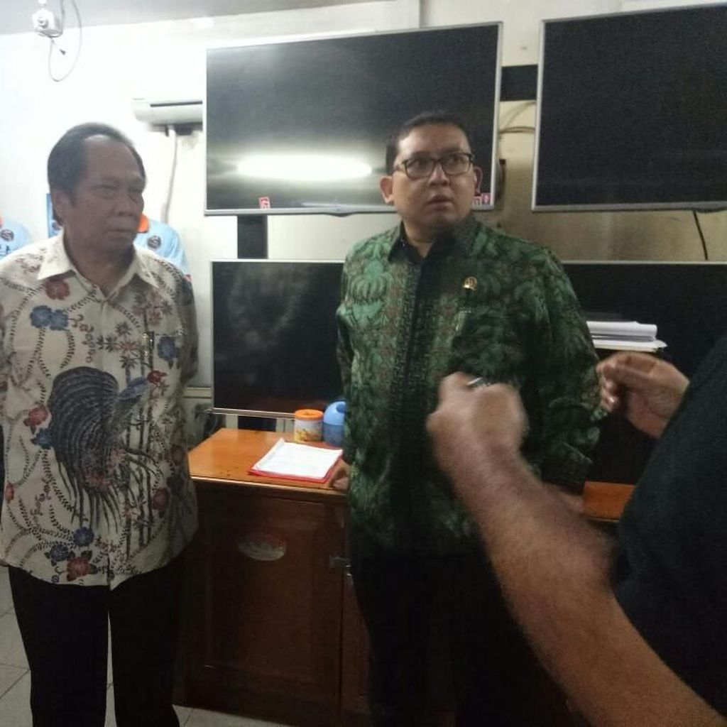 Sidak Kompleks Gedung DPR, Fadli Zon Kesal Banyak CCTV Tak Nyala