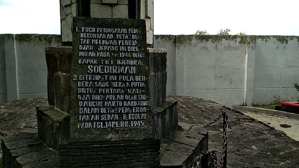 Monumen Potlot, Dari Sini Pemberontakan PETA Blitar Berawal