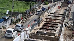 Penampakan Terkini Proyek Underpass Matraman