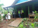Rumah Dukun Pengganda Uang yang Kubur 2 Orang di Batang Dijaga Polisi