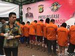 Polisi Amankan 7 Tersangka Terkait Kasus Pemalsuan STNK dan BPKB