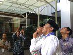 Anies Tinjau Tembok Gedung DPRD DKI yang Melengkung