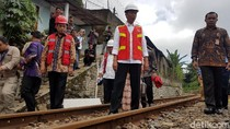 Ada Jalur Rel Ganda, Bogor-Sukabumi 1 Jam 20 Menit