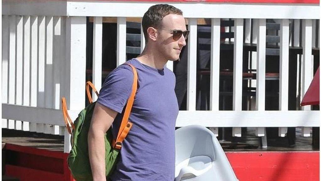 Saat Mark Zuckerberg Bawa-Bawa Potty Chair untuk si Kecil Max