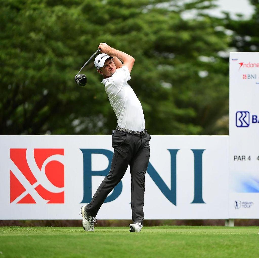 Justin Rose Belum Tergoyahkan hingga Hari Ketiga Indonesian Masters
