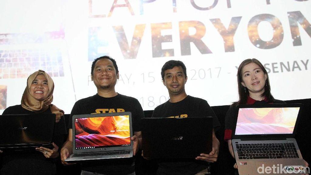 Asus Luncurkan Laptop Berbasis AMD