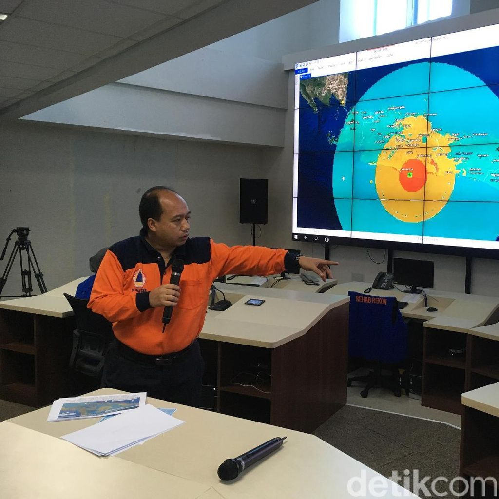 Ini Slide Penjelasan BNPB Soal Gempa 6,9 SR di Tasik
