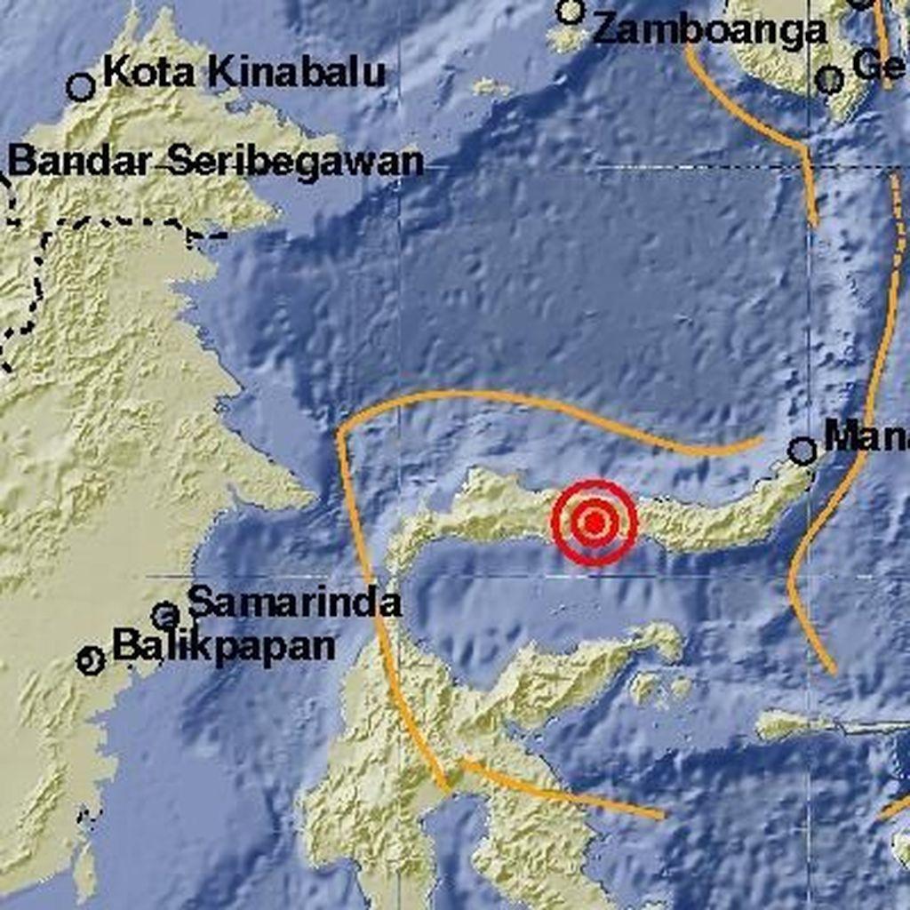 Gempa Guncang Minahasa, Tidak Berpotensi Tsunami