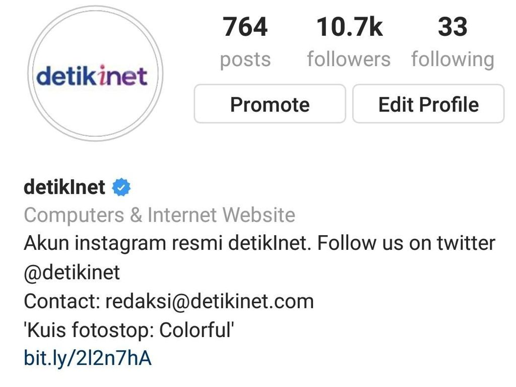 Instagram @detikinet is Back!
