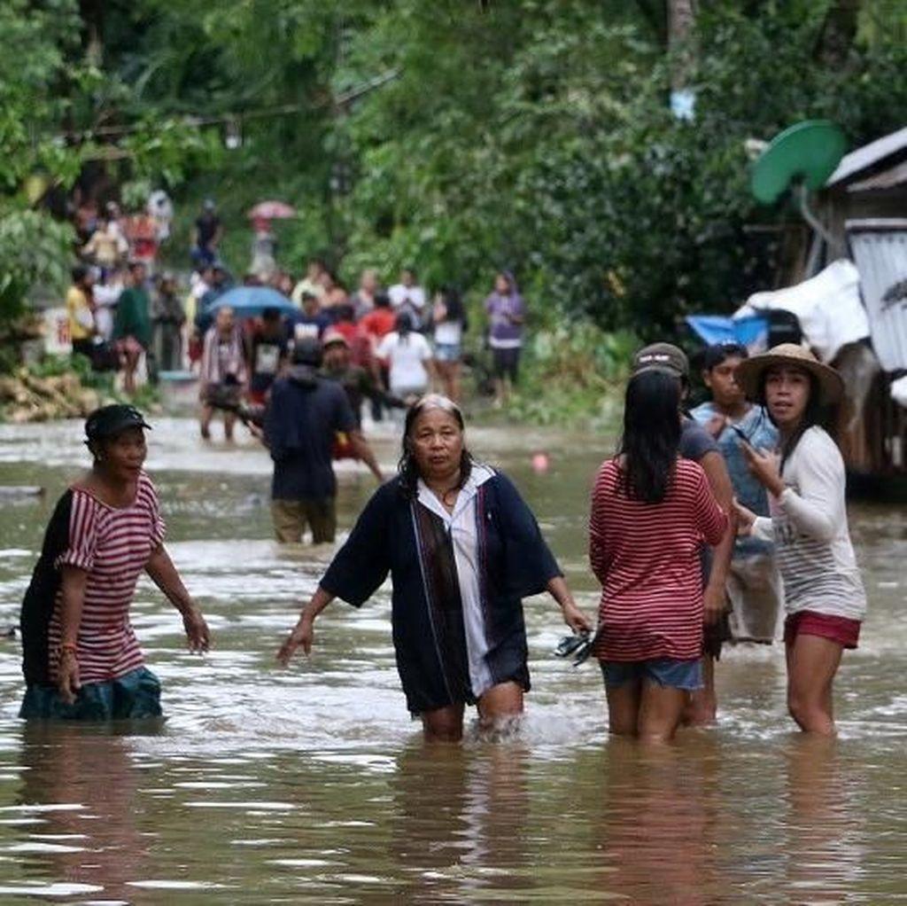 Badai Kai-Tak Terjang Filipina, Bocah 2 Tahun Tewas Tenggelam