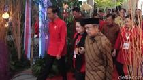 Jokowi-JK Dampingi Megawati dalam Rakornas 3 Pilar PDIP