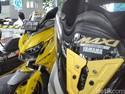 Puluhan Yamaha Xmax, Nmax dan Aerox Modif Sapa Tangerang