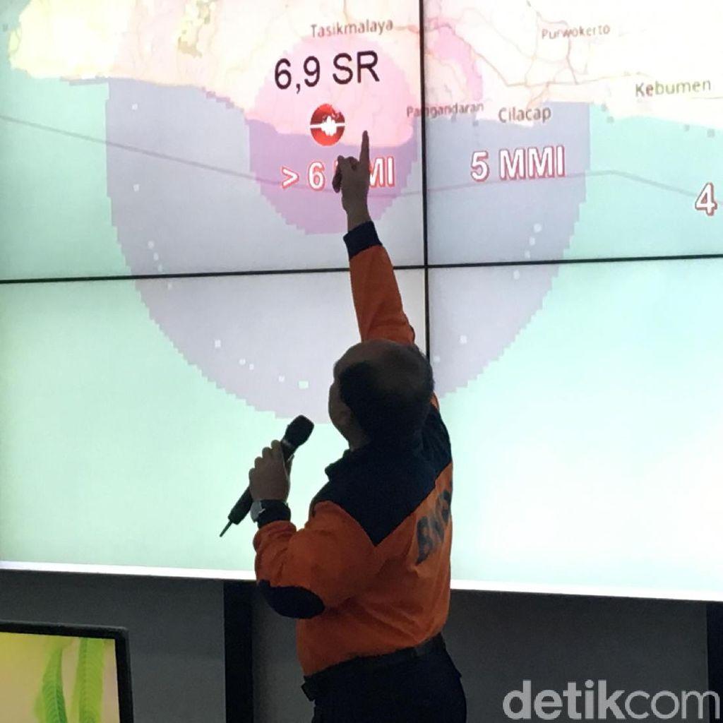 Ini Rincian Data Kerusakan di Jabar-Jateng Akibat Gempa 6,9 SR