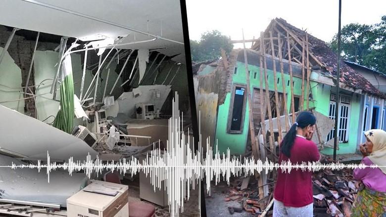 Kemensos Kerahkan Ratusan Tagana Sisir Korban Gempa Jawa Barat