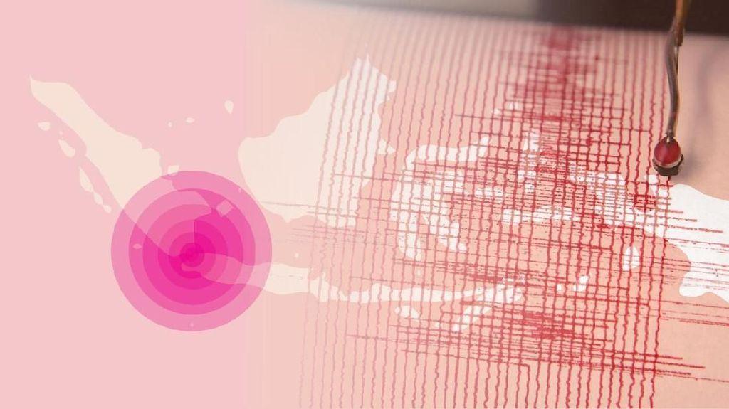 Gempa Banten, 45 Rumah Dilaporkan Rusak