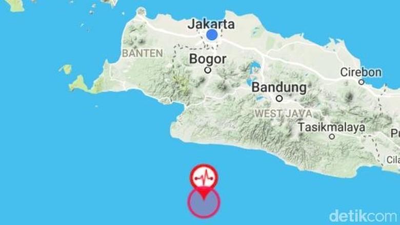Gempa di Jakarta Pagi Ini Tak Berpotensi Tsunami