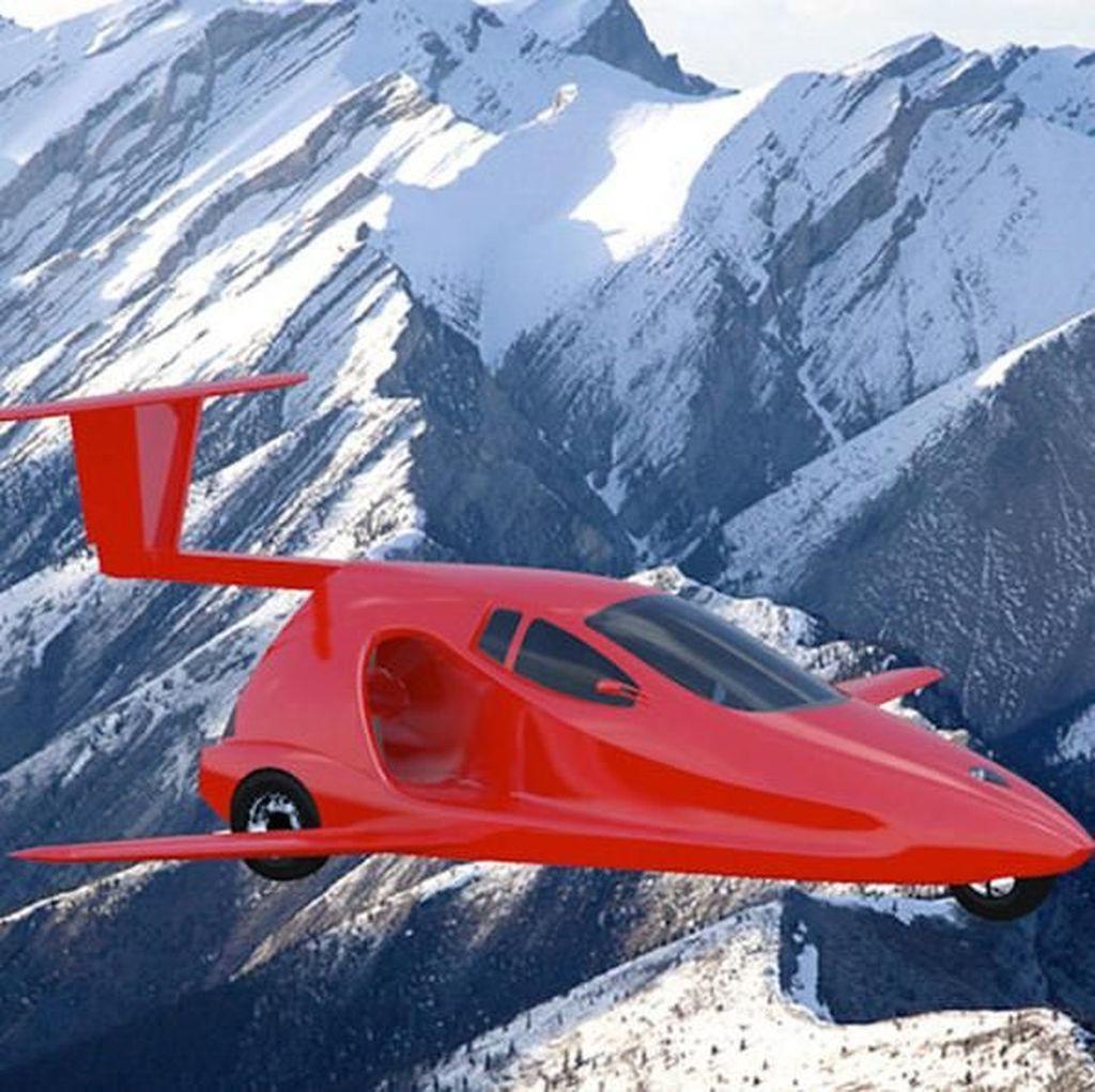 Mobil Terbang Ini Dibanderol Rp 1,6 Miliaran dan Bisa Rakit Sendiri