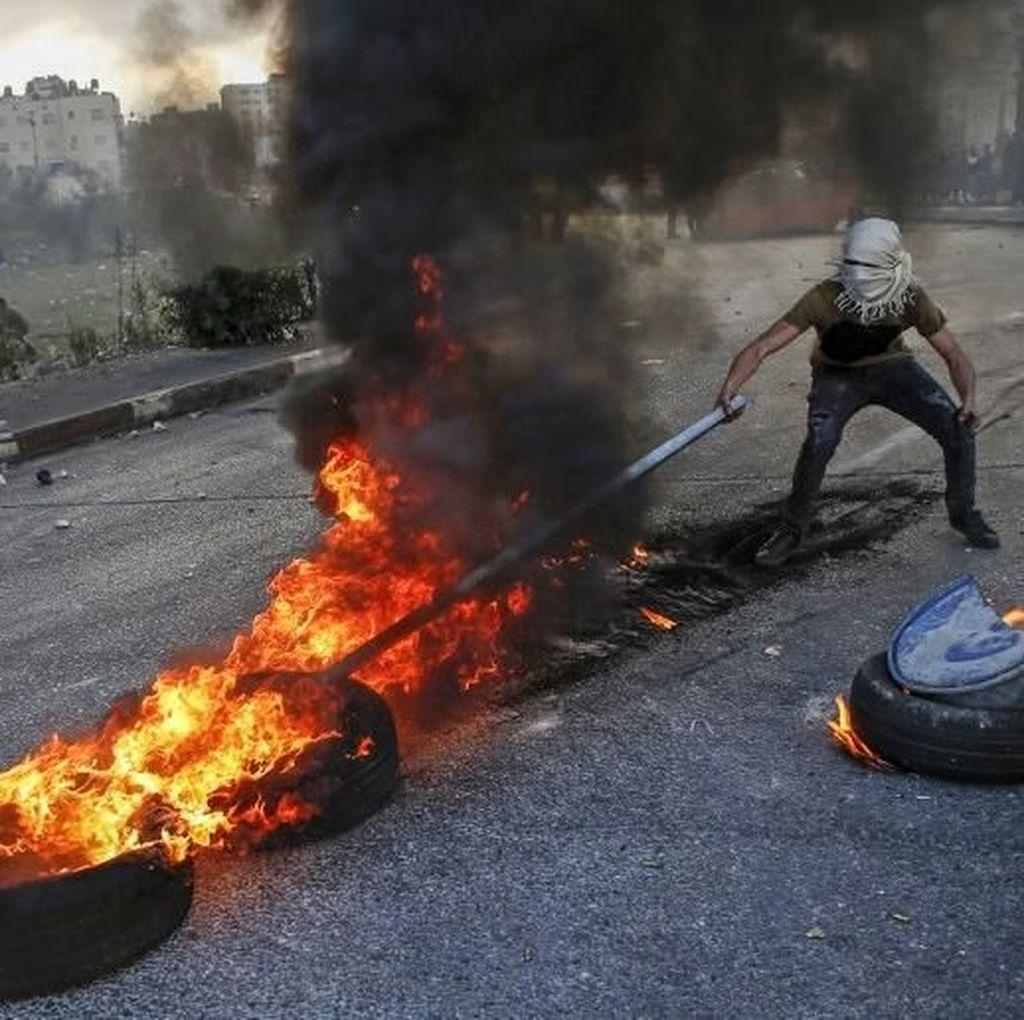 Foto: Bentrokan Kembali Pecah di Gaza dan Tepi Barat