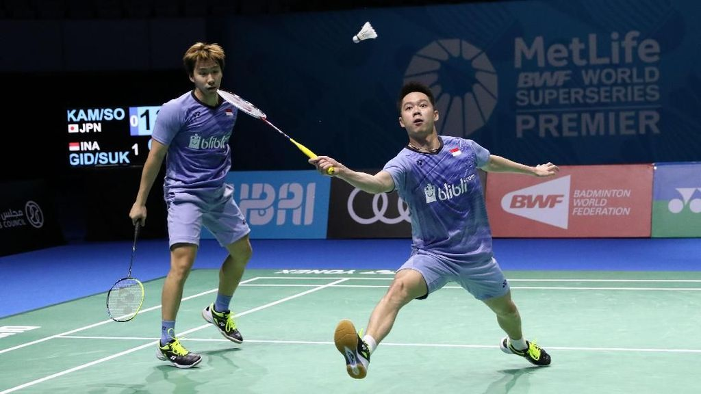 Menang Rubber Game, Kevin/Marcus Melesat ke Final