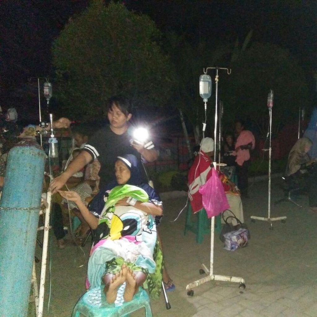 Ini Kerusakan RS Banyumas Dampak Gempa 6,9 SR di Tasikmalaya