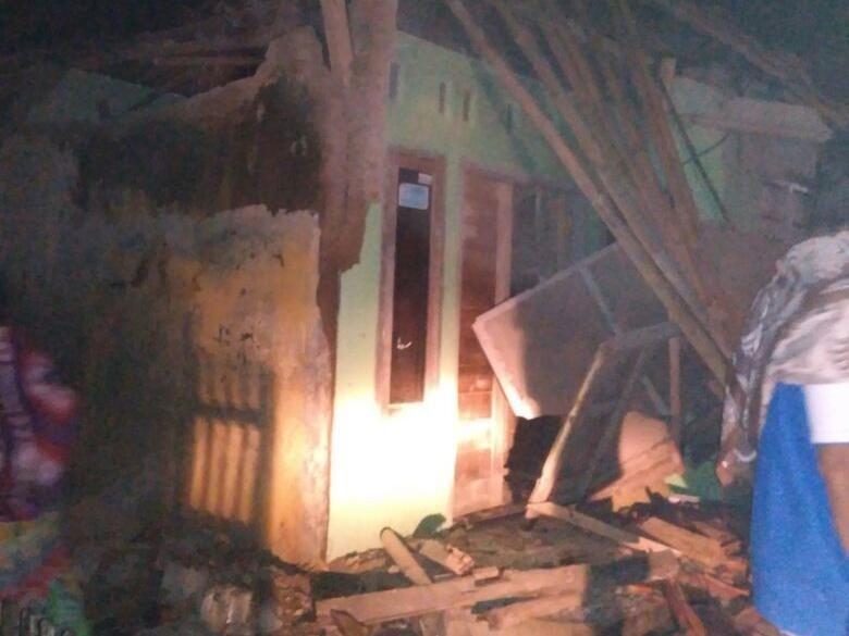 21 Bangunan Rusak dan 2 Orang Luka-luka di Pangandaran Akibat Gempa