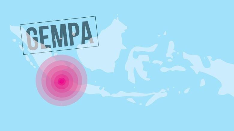 Masih Berpusat di Banten, Kekuatan Gempa yang Terasa di Jakarta 5,2 SR