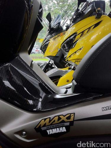 Puluhan Yamaha Xmax, Nmax dan Aerox Modif Sapa Tengerang