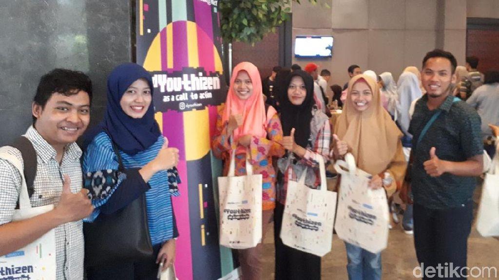 Ratusan Arek Surabaya Zaman Now Ramaikan dYouthizen
