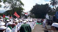 Massa FPI dan API Gelar Aksi Bela Palestina di Bandung