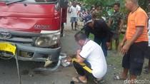 Adu Jangkrik dengan Dump Truk, Dua Pengendara Motor Tewas Terlindas