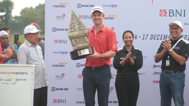 Justin Rose Jadi Juara Indonesian Masters 2017
