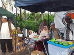 Ada Makanan Hingga Obat-obatan Gratis untuk Massa Aksi Bela Palestina