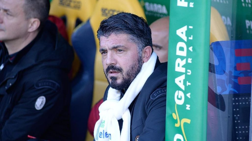 Surat Istimewa dari Ancelotti untuk Gattuso yang Sedang Ultah