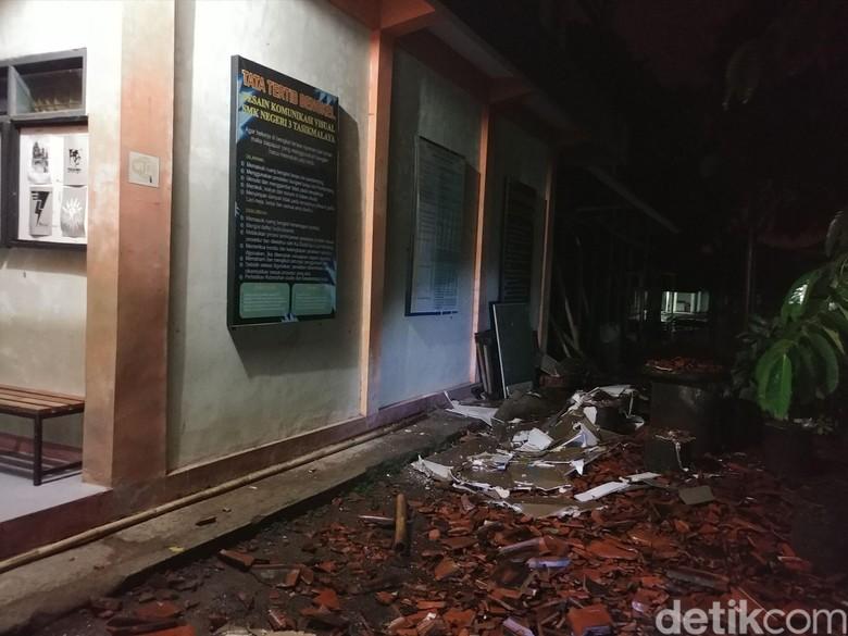 Disdik Jabar Catat 34 Bangunan Sekolah Rusak Akibat Gempa