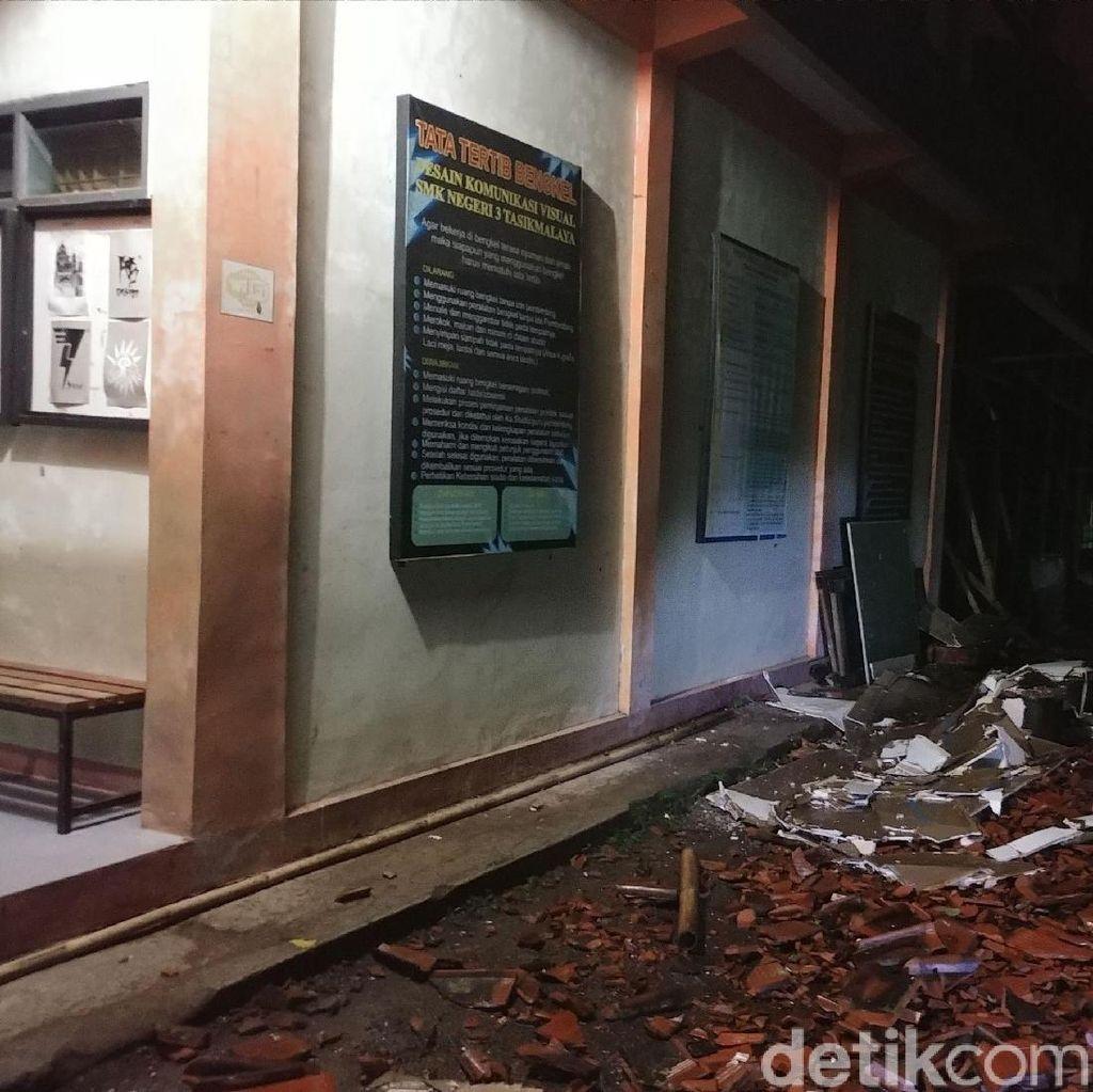 Pemprov Jabar Janji Perbaiki Kerusakan Sekolah Akibat Gempa
