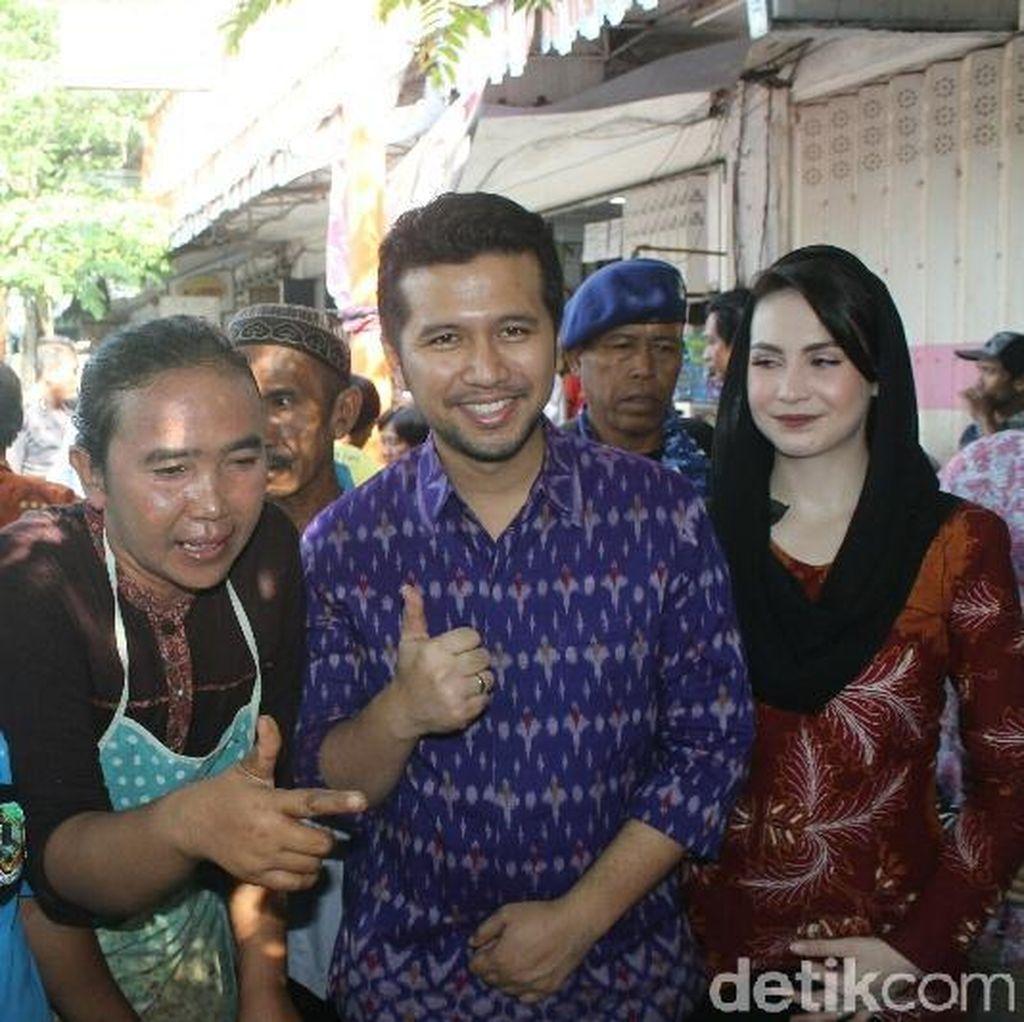 Emil Dardak Blusukan di Banyuwangi, Pedagang Pasar Fokus ke Arumi