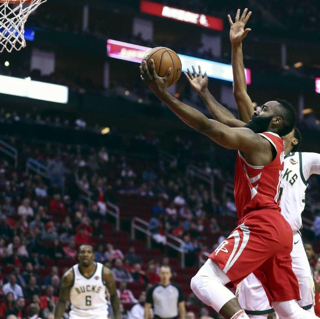 Rockets Libas Bucks, Perpanjang Rentetan Kemenangan