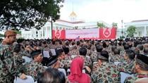 Bogor Hujan, Ratusan Pendonor Darah Masuk Istana Kepresidenan