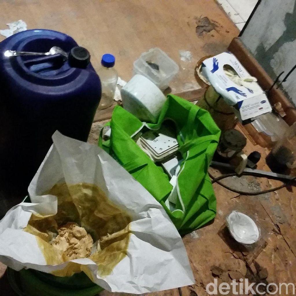Pabrik Sabu Liquid di Diskotek MG Sudah Beroperasi 2 Tahun
