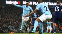 Turun Minum, City Memimpin 1-0 atas Tottenham