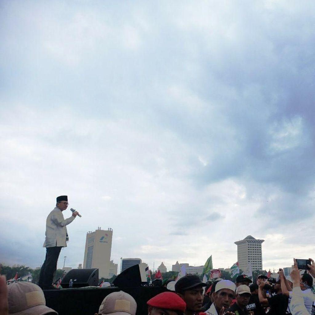 Orasi di Monas, Ketua MPR: Bela Palestina Amanat Konstitusi